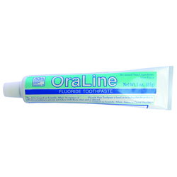 3 oz. OraLine ADA Accepted Fluoride Mint Toothpaste