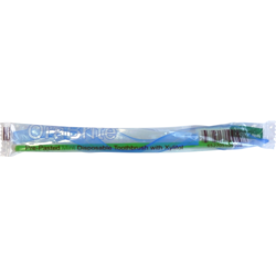 Dry Mouth Pre-pasted Disposable Toothbrush with Xylitol