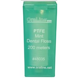 200 Yd Premium PTFE Mint Dental Floss Refill