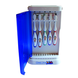 5 Unit Toothbrush Sanitizer