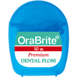 10m Premium PTFE Plain Dental Floss