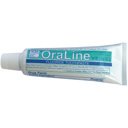 1.5 oz. OraLine ADA Accepted Fluoride Mint Toothpaste
