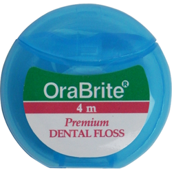4m PTFE Plain Dental Floss