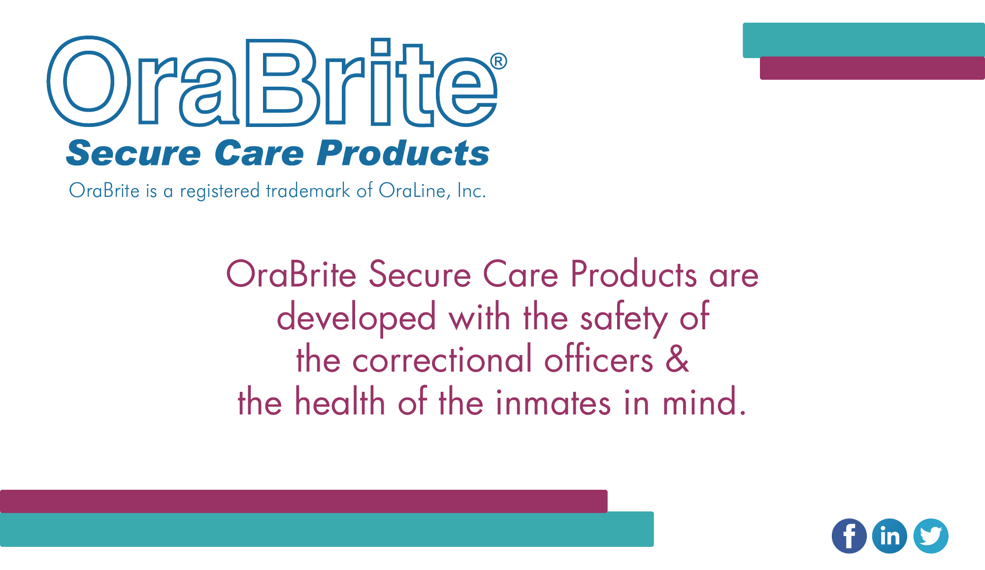 Safety of the Correctional Officers & Health of the Inmates