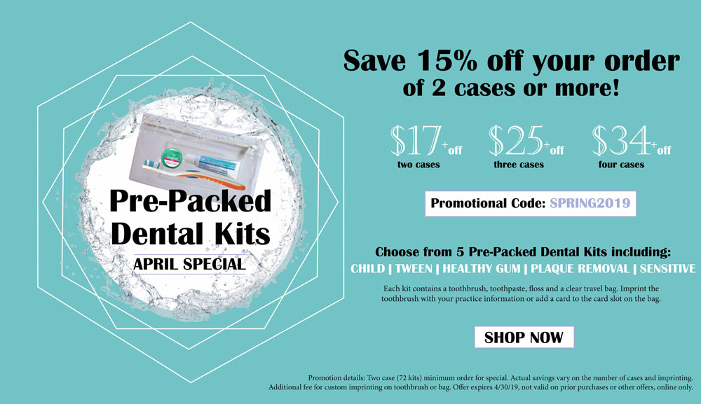 Monthly Special - Dental Kits