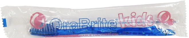 Child Pre-pasted Toothbrush, Bubblegum Flavor